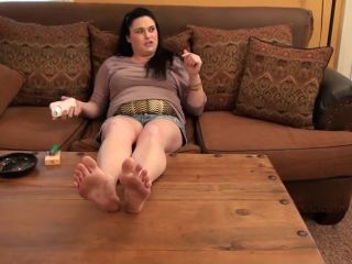 Soles fetish – Sweet Southern Feet – Worship Katnik's Dirty Soles POV