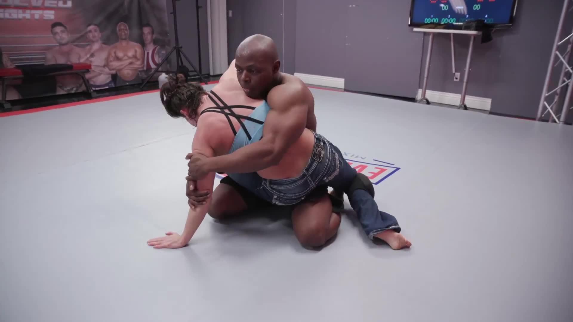 Mixed Wrestling Cory Chase