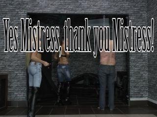Porn online Femdom Online – CRUEL MISTRESSES – Yes Mistress, thank you Mistress – Mistress Ariel and Mistress Amanda