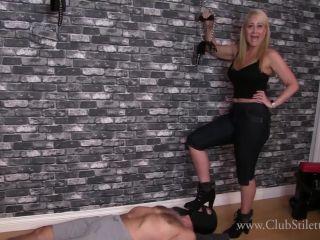 Boots – Club Stiletto FemDom – The Carpet Bitch Came Back – Mistress Kandy