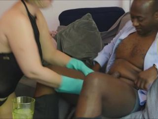 ManyVids presents b1ackwood — Wife fucks hubbys black boss