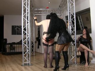 Leather Fetish – Goddess Alexandra Snow – Whipping Beauties Part 1