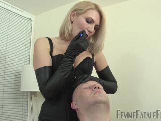 Femme Fatale Films – Mistress Akella – Spit Slap – Complete Film