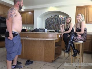gina gerson femdom femdom porn | The Mean Girls – Goddess Platinum, Princess Amber – Guzzle and Bust! (1080 HD) – Ballbusting – Sub Training, AmericanMeanGirls | miami