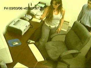 Office Slut Jerks Off Co-Worker On Cam - 720