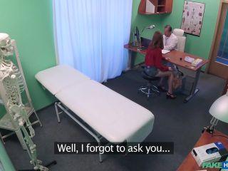 Petite Russian Teen Sucks and Fucks Doctors Hard Cock