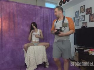 Broke Model First Time Model Fails at Fake Photoshoot Casting Nata ...