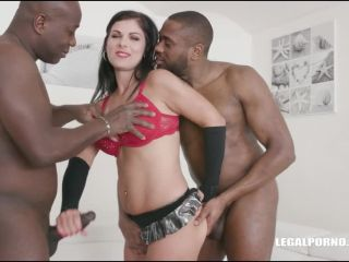 Janice United – (LegalPorno) – First black cock and first double anal IV297
