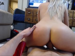 Hot Amateur Blonde Fucked In The Ass And Begs For Anal Creampie In Cam ...