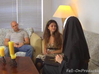 Nun Professor Pays a Visit Madisin Lee Yesenia Sparkles