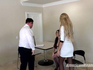 The Mean Girls – Feet On Retainer (1080 HD) – Goddess Harley, Superior Goddess Brooke – Office Domination, Humiliation, bbw fetish on fetish porn