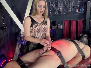 Female Domination – The English Mansion – Cock Beaten and Probed – Complete Film – Mistress Sidonia