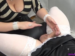 Forced By Step-Mommy - Closeup Sissy Milking - milking on bdsm porn
