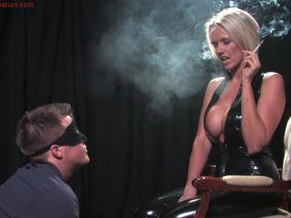 Porn online SmokingDomination presents Mistress Lucy Zara dominates male slave