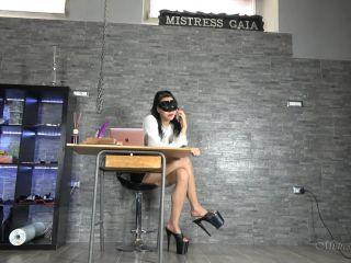 Porn online [Femdom 2019] MISTRESS GAIA – THE SHRIMP [High Heels, Body Part Comparison, Heigh Humiliation, Humiliation, Degradation, femdom online, k2s.cc] femdom