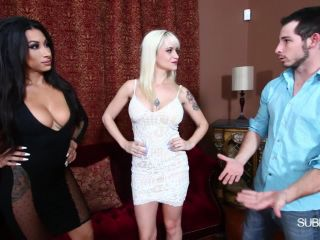 Strapon – Subby Hubby – Evaluating New House Bitches – Dahlia Rain and Goddess Tangent