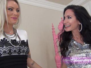 Foot Worship – THE MEAN GIRLS – Foot Gagged By Hot Girls – Goddess Harley and Goddess Randi
