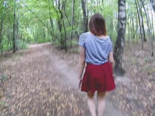 JuliAleXXX in 019 He Fuck me in Public Park and Cum in Mouth. POV