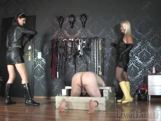 Femdom – FemmeFataleFilms – Hunters – Complete Film – Divine Mistress Heather and Lady Victoria Valente