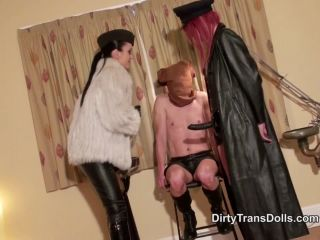 DirtyTransDolls – TS cock domination part 1 [Forced Bi, Strapon, Transsexuals]