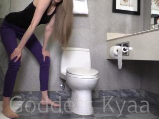 goddess kyaa – toilet fetish humiliation 3