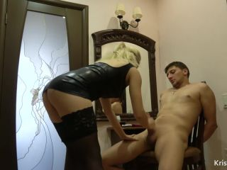 KrissKiss in Mistress Fucks Anal her Slave