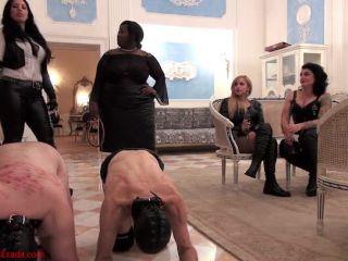 Whipping – Mistress Ezada Sinn – The proper way – Madame Caramel, Mistress Ava von Medisin and Domina Sophia Larou