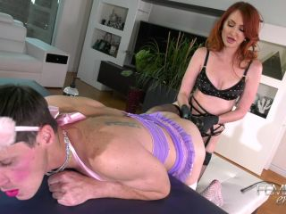 ViciousFemdomEmpire: Mistress Kendra - Slutified Male Toy, anal rimming on anal porn
