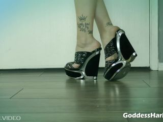 AMAZON Goddess Harley – The Sole Truth Of A Foot Loser