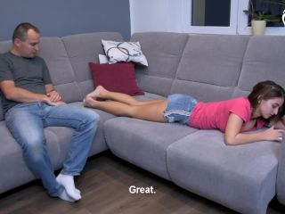 Foot humiliation – Czech Soles – Step-Sister's Irresistible Feet