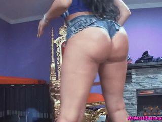 femdom - The Laughing Latina – DaisyDuke FaceSitting. Starring Jasmine Mendez