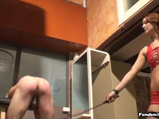 Red Stockings – Female Domination HD – Cane me, Mistress – Misstress Nataly