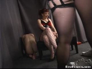 Bestfemdom – Mistress Jaded, Mistress Noelle –  Watch Him Suffer