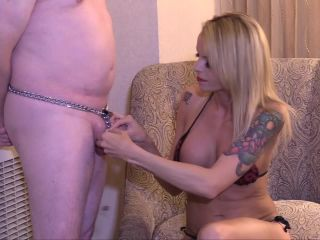 Tiny Chaste – Bella Blue Balls Her Chastity Slave