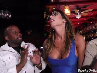 BlacksOnBlondes presents Dava Foxx — GangBang Big Black Cock —