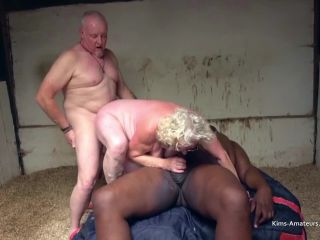 Granny Claire Threesome