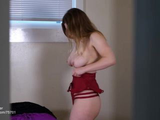 Xev Bellringer - Mommy Lets You Watch Her Change Clothes | masturbation instruction | pov