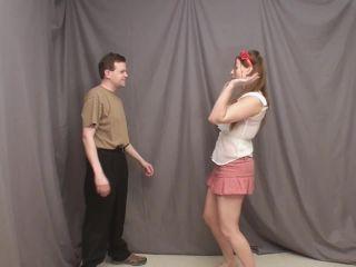 suburbansensations  mistress jenni  jenni disciplines when guys don't listen  cock and ball crush