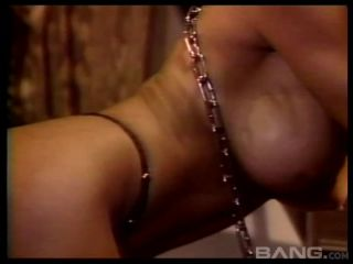Brunette With Big Boobs And A Great Ass Is Submissive In Bdsm Threesom ...