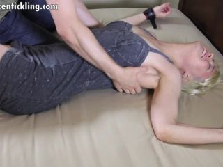 ZenTickling - German Beauty Isola's First Time Tickled