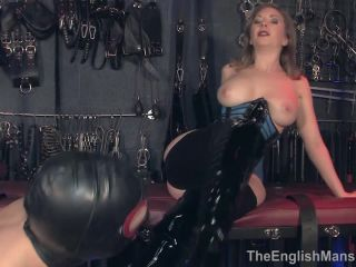 amatuer femdom strap on | The English Mansion Mistress T: Addicted To Her (Part 1) BDSM porn video and captions | strapon fucking