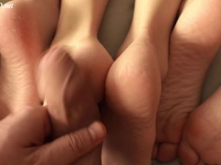 3 Asian Teen Feet On My Dick