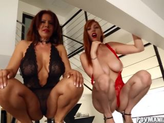 ty redhead lauren phillips gives hot pov blowjob with