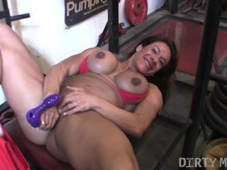Rica - She's Working Hard In The Gym. So's Her Pussy.