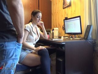 Wet Kelly - Slutty secretary fucked by her boss