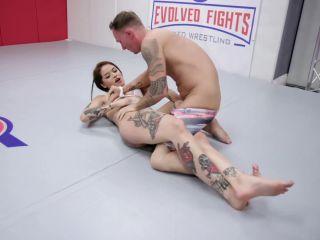 EvolvedFights – Vanessa Vega vs Jason Michaels – Mixed Wrestling