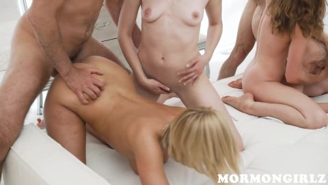Kate England, Trillium, Kasey Warner, Jane - The Four Tributes [FullHD 1080P]