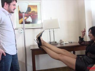 Porn online [Femdom 2018] TA BRATS – Send In The Loser. Starring Mistress Tangent [Footworship, Footlicking, Foot Licking, Foot Worship] femdom