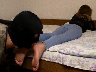 Licking Girls Feet – ELENA – Neat and beautiful soles – Foot worship
