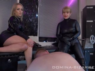 Online video femdom domina-bizarre: double trouble! teil1